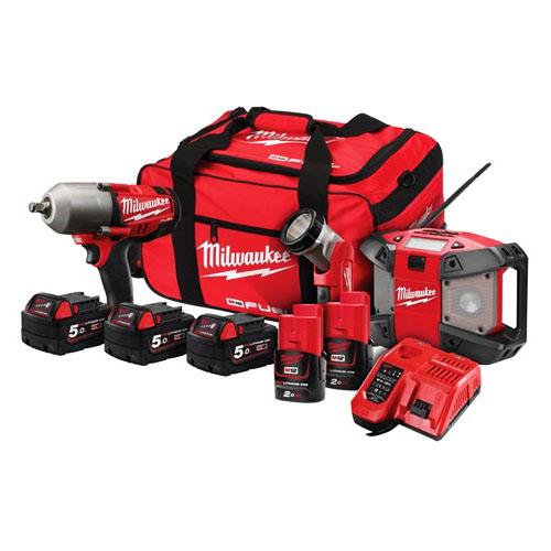 Vehicle service tools milwaukee m18fpp3b 525b for Milwaukee motor vehicle department