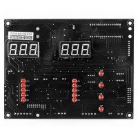 Main display board for PA-7150 wheel balancer